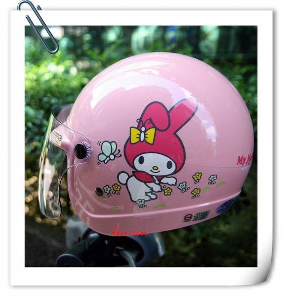 美樂蒂安全帽,兒童安全帽,K856,K857,美#2/粉