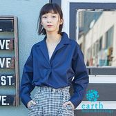 ❖ Hot item ❖ 休閒感寬版襯衫 - earth music&ecology