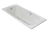 【麗室衛浴】美國 KOHLER REPOS 鑄鐵浴缸(含扶手孔) K-18200K-GR-0 160*75*46CM(優惠中)