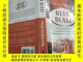 二手書博民逛書店Beer罕見Blast: The Inside Story of