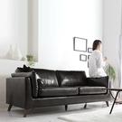 沙發北歐小戶型皮沙發現代簡約商務接待會客廳雙人三人位辦公室皮沙發春季特惠
