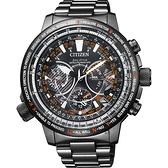 林威助教練配戴 CITIZEN 星辰 PROMASTER 30週年光動能 鈦 GPS衛星對時手錶-47mm CC7015-55E