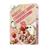米森 BC益生菌草莓脆麥片 300g/盒