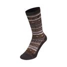 [Mont-Bell] (女) Merinowool Jacquard Socks 羊毛緹花襪 棕 (1108756BN)