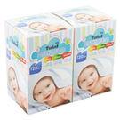 TwinS伯澄嬰兒紗布毛巾(120枚入*2盒)