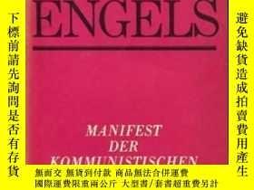 二手書博民逛書店1989年德文共產黨宣言Manifest罕見der Kommun