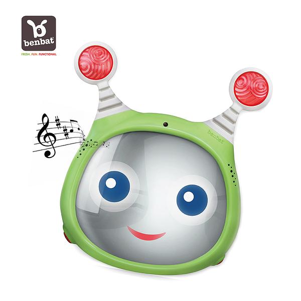 【Benbat】寶寶音樂後視鏡 (綠色)