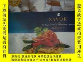 二手書博民逛書店SAVOR(SM)The罕見Royal Caribbean In