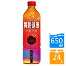 每朝健康無糖紅茶650mlx24入/箱【愛買】