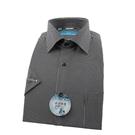 【南紡購物中心】【襯衫工房】長袖襯衫-黑色細條紋