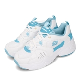 Skechers 休閒鞋 D Lites AIRY 2.0 X Sailor Moon 白 藍 女鞋 美少女戰士 運動鞋 老爹鞋 【PUMP306】 66666267WLB