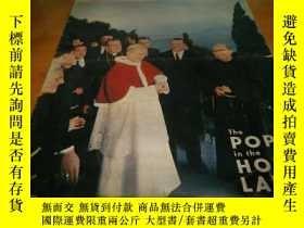 二手書博民逛書店8開1964年畫報---POPE罕見in the HOLY La