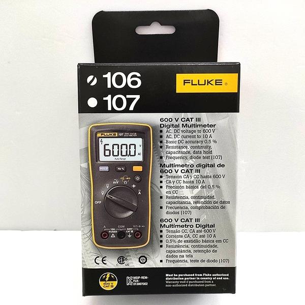 美國福祿克 Fluke 106 數位萬用錶 台灣公司貨