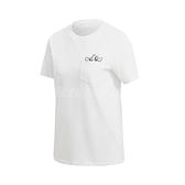 adidas 短袖T恤 Graphic Tee 白 黑 女款 短T 大眼睛 塗鴉 運動休閒 【ACS】 GK3668