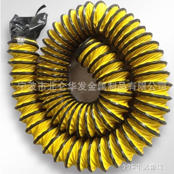 通風軟管道 PVC尼龍塑料帆布螺旋 抽油煙鼓送排風機軟管600mm 1995生活雜貨NMS