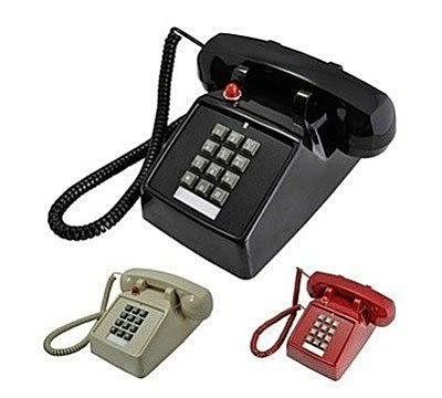 老式復古電話機 按鍵式【藍星居家】