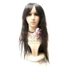 【旁分.斜瀏海長細捲髮造型】全頂纖維假髮 K26 #4 [27735]