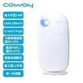 【年終最後回饋下殺】再送兩片活性碳濾網($1600*2)【韓國 Coway】 AP-1009CH 空氣清淨機加護抗敏型