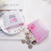 創意草莓可愛短款零錢包
