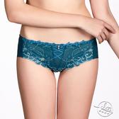 LADY 浪漫三重奏系列 低腰平口褲 ( 寶石綠 )