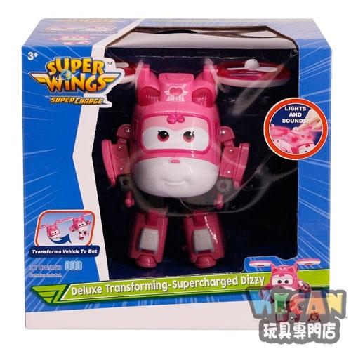 SuperWings 超級飛俠 超動力聲光變形蒂蒂DIZZY 38965