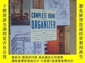 二手書博民逛書店The罕見complete home organizer:a guide to functional storag