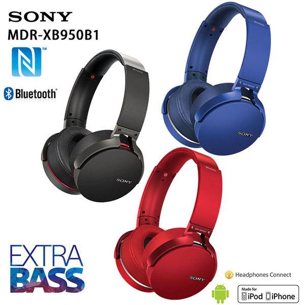 SONY MDR-XB950B1 藍牙重低音耳罩式耳機 公司貨保固一年