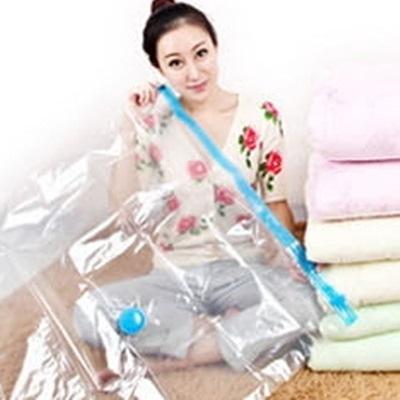 真空壓縮袋(十六件套)-透明無色乾淨俐落居家收納防塵套73l10【時尚巴黎】