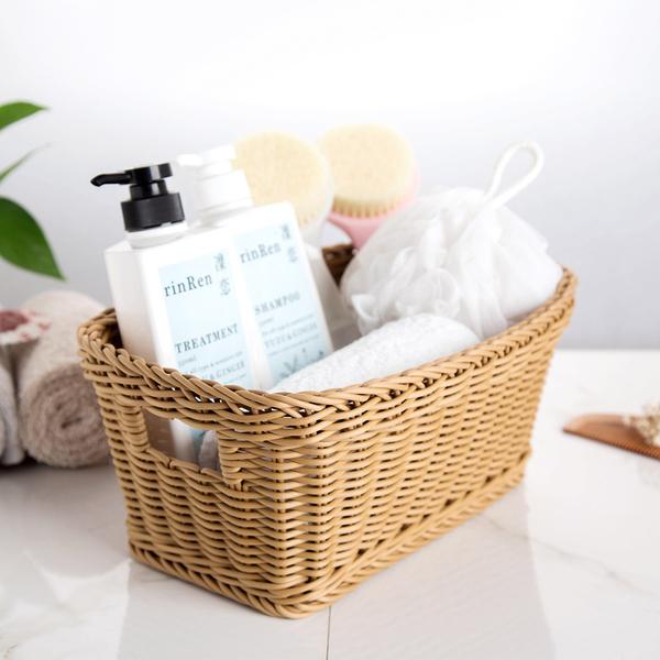 [超豐國際]CORTEX臺灣進口雜物收納籃桌面小籃子浴室臟衣服收納筐玩具