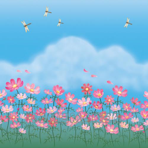 韓國彩繪自黏窗貼_HN-GS18B