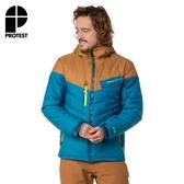 PROTEST 男 機能防水保暖外套 (強烈藍) VIRGO SNOWJACKET