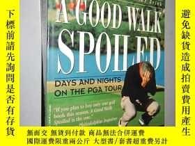 二手書博民逛書店A罕見Good Walk Spoiled: Days and N