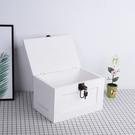 收納盒 ZAKKA收納盒裝飾盒復古風實木帶鎖盒子木質珠寶首飾箱子民宿定制 8號店
