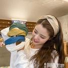 髮箍 韓版網紅頭飾少女韓國簡約甜美寬邊髮帶髮箍頭箍壓髮外出百搭髮卡 智慧 618狂歡