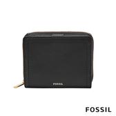 FOSSIL LOGAN RFID 迷你多功能短夾-黑色 SL7923001