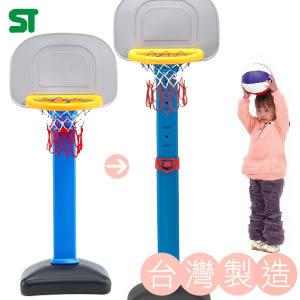 台灣製 標準型籃球架+送球(二段式)高度可調兒童籃球架灌籃球板籃框籃架籃板推薦哪裡買專賣店
