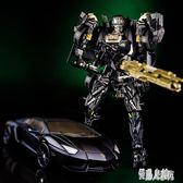 變形玩具金剛機器人酷變寶暗黑禁閉模型玩具男孩變形車機器人玩具 DJ10510【優品良鋪】