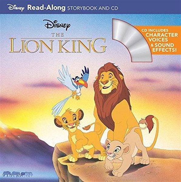 (二手書)Lion King: Read-Along Storybook and CD