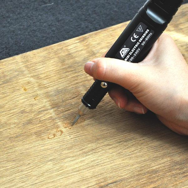 迷你小電磨 鑽孔打磨拋光機根木雕文玩電動工具微型玉石雕刻字筆 智能生活館
