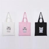手提包 帆布袋 手提袋 環保購物袋--手提/單肩/拉鏈【SPA92】 ENTER  10/06