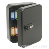 KEYBOX密碼鎖匙箱鑰匙箱鑰匙櫃汽車鑰匙收納盒壁掛式36位新款  YDL