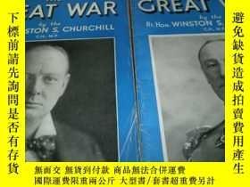 二手書博民逛書店the罕見great war by the Rt Hon Win