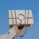 包包新款2021潮小包斜挎包小眾洋氣星空亮片包鏈條休閑包氣質女包 璐璐