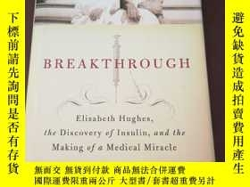 二手書博民逛書店Breakthrough:罕見Elizabeth Hughes,
