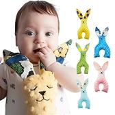 安撫兔 嬰幼兒寶寶泡泡絨手抓抱玩偶-JoyBaby