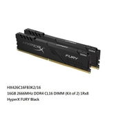 新風尚潮流 【HX426C16FB3K2/16】 金士頓 桌上型 超頻記憶體 DDR4-2666 8GB x2