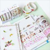 原創 3個裝 日式 和紙膠帶組 手帳 相冊 DIY 裝飾 膠帶