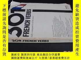 二手書博民逛書店301罕見FRENCH VERBS 301法語動詞Y5919
