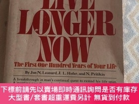 二手書博民逛書店Live罕見longer nowY459096 Jon Grosser 出版1974