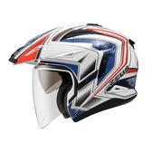【ZEUS 瑞獅 ZS 613A AJ6 白藍 安全帽 內襯全可拆洗、快拆帽舌】 機能性滿載、免運費